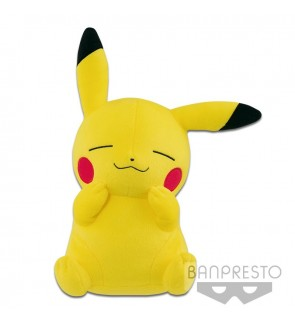 Pikachu Mania Big Plush Snuggle Pikachu by Banpresto
