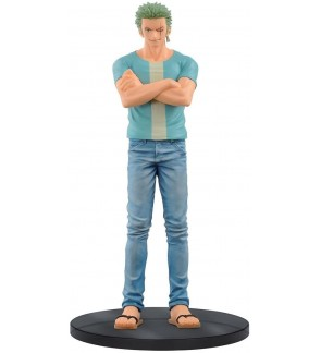 One Piece Jeans Freak Volume 6 Roronoa Zoro Figure by Banpresto