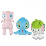 POKEMON FOCUS <PHANTOM POKEMON> BIG PLUSH -MEW・MANAPHY・SHAYMIN- BBC