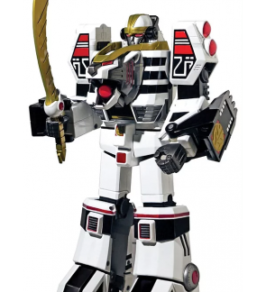 POWER RANGERS Legacy White Tigerzord BBC